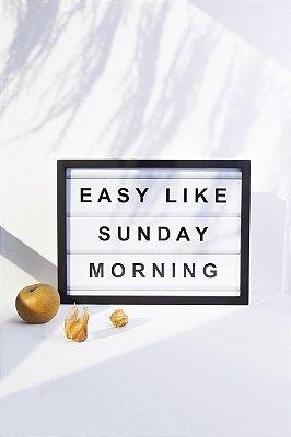 quadro easy like sunday morning