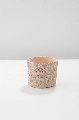 cachepot nude em cimento P