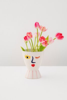 vaso em cerâmica zoe