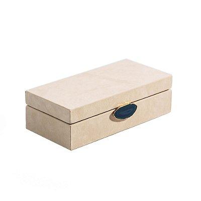Caixa Petra Blu P || Bege