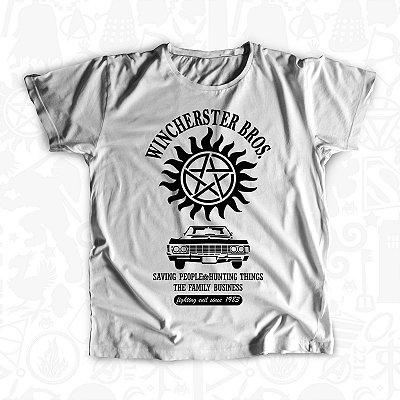 8ccaf1d54 Camiseta (BL) - Winchester Bros