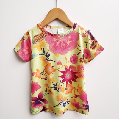 Camiseta Floral Lima