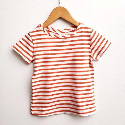 Camiseta Listra Laranja