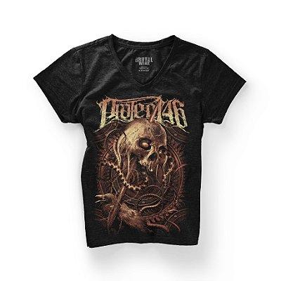 Camiseta Babylook Skull - Gola V