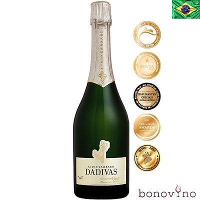 Dádivas Espumante Blanc de Blanc Chardonnay Brut Lidio Carraro