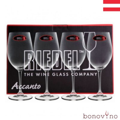 Kit Accanto c/ 4 Taças Red Wine Riedel