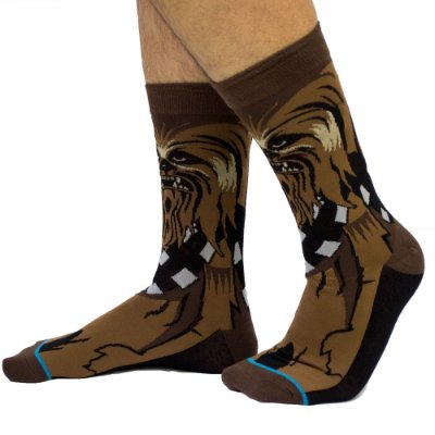 Meia Divertida Star Wars - Chewbacca
