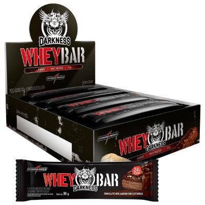Dark Whey Bar 90g Caixa C/ 8 Un Darkness - Integralmédica