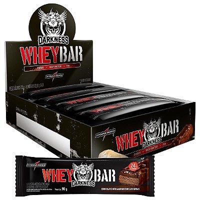 Dark Whey Bar 90g Caixa C/ 8 Un Darkness - Integralmédica