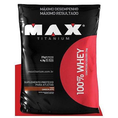 100% Whey 2Kg Refil Max Titanium