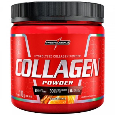 Collagen Powder Colágeno Hidrolisado 300g Integralmédica
