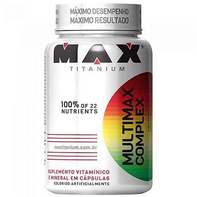 Multimax Complex 90 Cápsulas Max Titanium