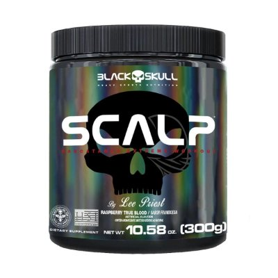 Scalp Pre Workout 300g Black Skull