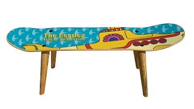 Banqueta Shape Estampado - Yellow Submarine (Beatles)