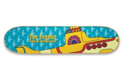 Quadro Shape Estampado - Yellow Submarine (Beatles)