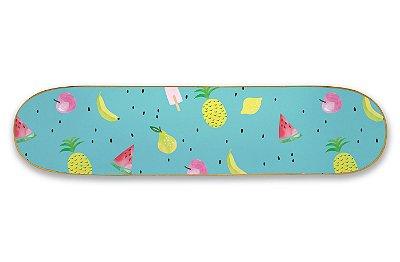 Quadro Shape Estampado - Frutinhas