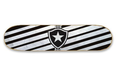 Quadro Shape Estampado - Botafogo
