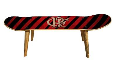Banqueta Shape Estampado - C.R. Flamengo