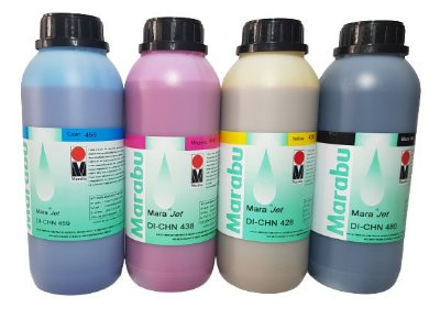 Tinta Eco-Solvente Marabu DI-CHN - 1 Litro