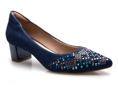 Scarpin Neftali Comfort Hotfix Blue