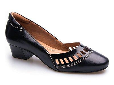 Sapato Neftali Comfort Laser Preto