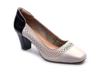 Sapato Neftali Comfort Laser Off-White