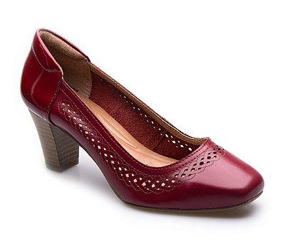 Sapato Neftali Comfort Laser Vermelho