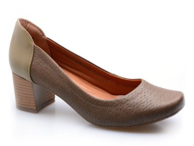 Sapato Neftali Comfort Tressê Oliva