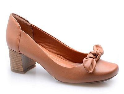 Sapato Conforto No Caramelo