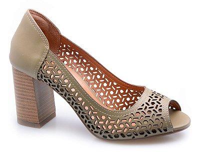Sapato Neftali Comfort Laser Oliva