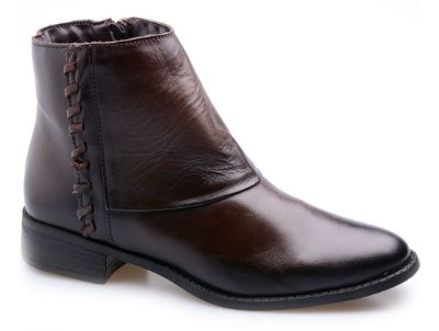 Bota Cano Curto Chocolate Fumex