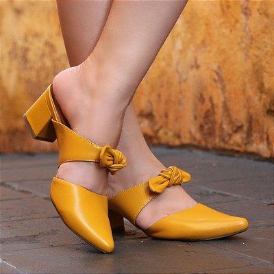 Sapato Neftali Laço Amarelo