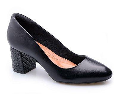 Sapato Conforto Clássico Preto