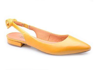 Sapatilha Conforto Nó Amarela
