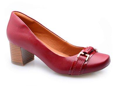 Sapato Neftali Detalhe Vermelho