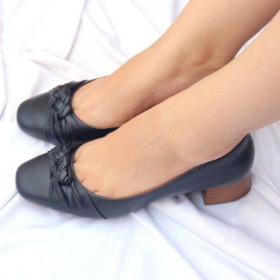 Sapato Neftali Trançado Marinho