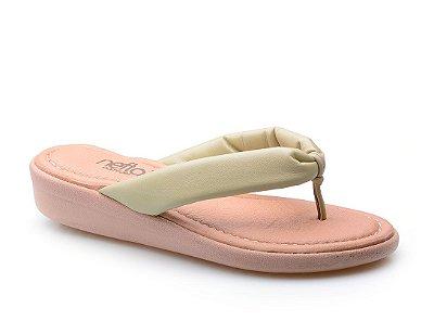 Sandália Dedo Super Conforto Pistache