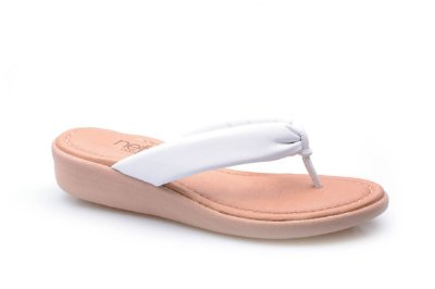Sandália Dedo Super Conforto Branca
