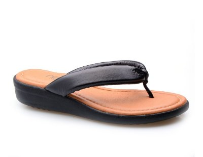 Sandália Dedo Super Conforto Preta