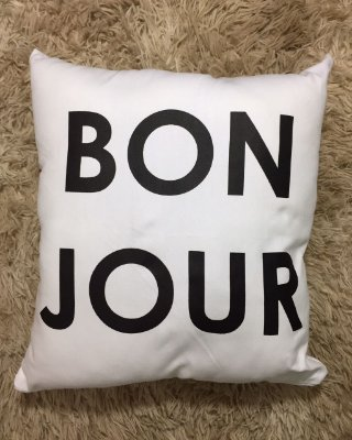 Almofada Bounjour