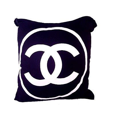 Almofada Chanel Preta