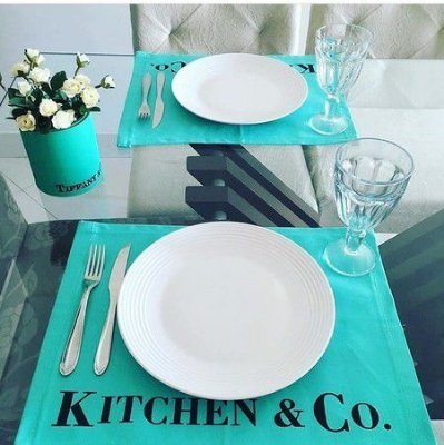 Jogo americano kitchen & co