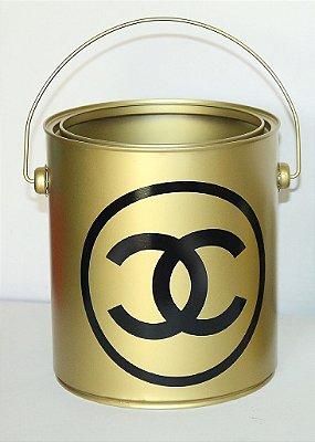 Mini Balde Chanel Gold