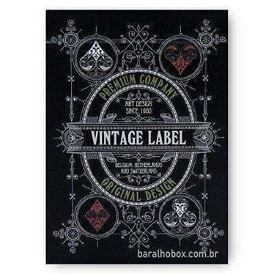 Baralho Vintage Label Premier Edition Black