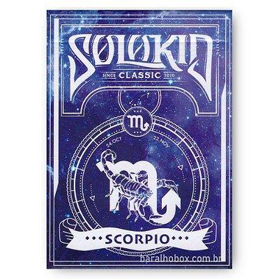 Baralho Solokid Constellation Series V2 - Escorpião (Scorpio)