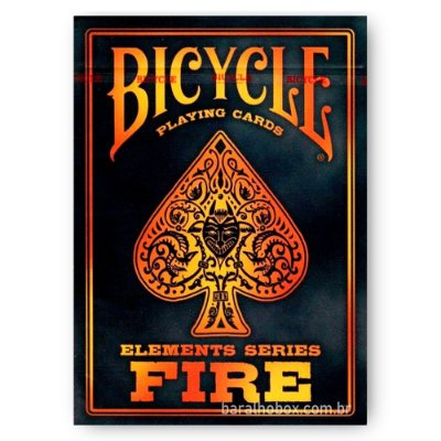 🔥 Baralho Bicycle Fire 🔥