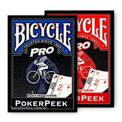Baralho Bicycle Pro PokerPeek