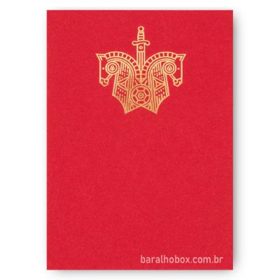 Baralho Red Knights
