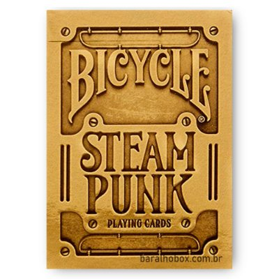 Baralho Bicycle SteamPunk Gold