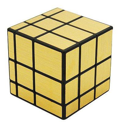 Cubo Mágico Mirror Blocks Qiyi Dourado